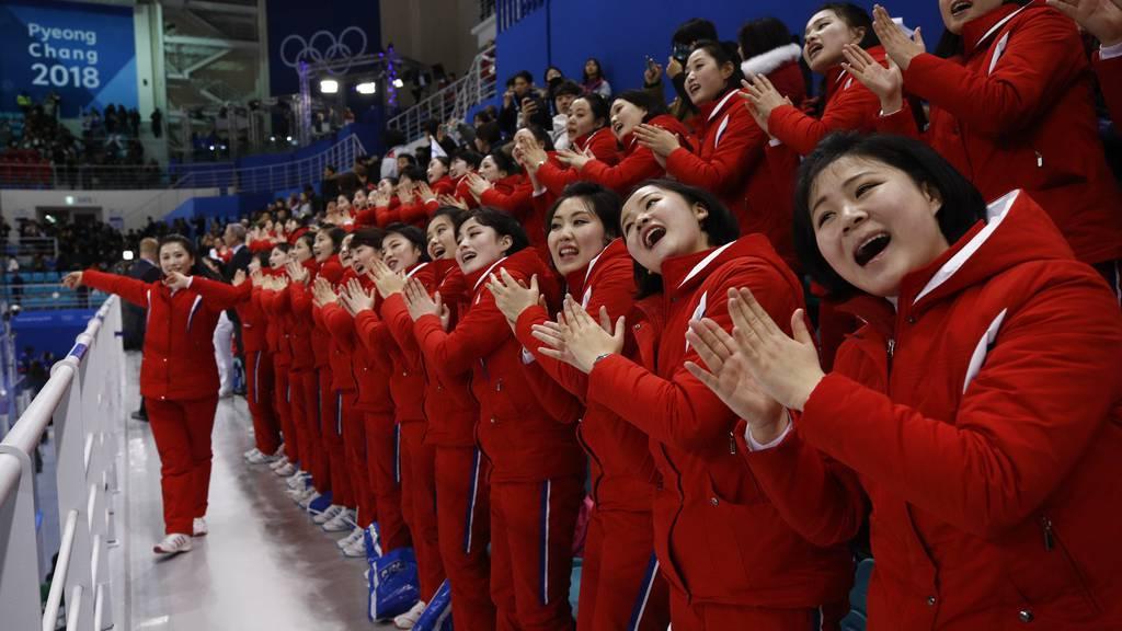 Der unheimliche Auftritt von Nordkoreas «Armee der Schönen»