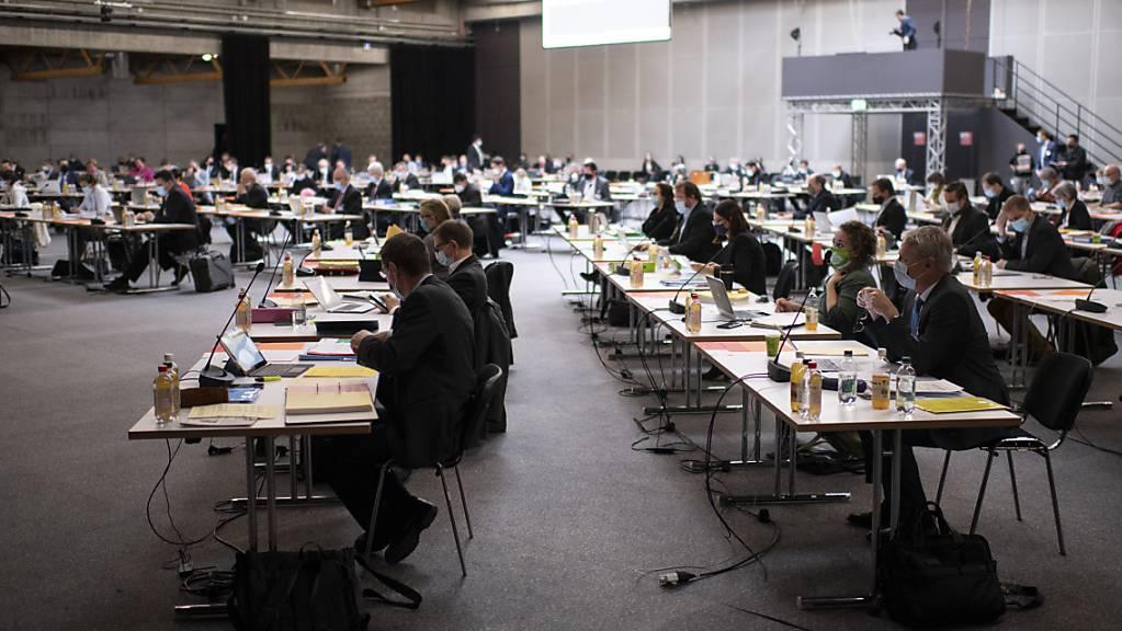 Das Projekt für die Sanierung des Verkehrsknotens Augarten in Uzwil löste im St. Galler Kantonsrat eine lange Diskussion aus: Die Unzufriedenheit mit dem Vorhaben war gross. (Archivbild)