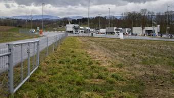 Der Rastplatz an der A1 bei Wileroltigen (BE) ist seit gestern gesperrt.