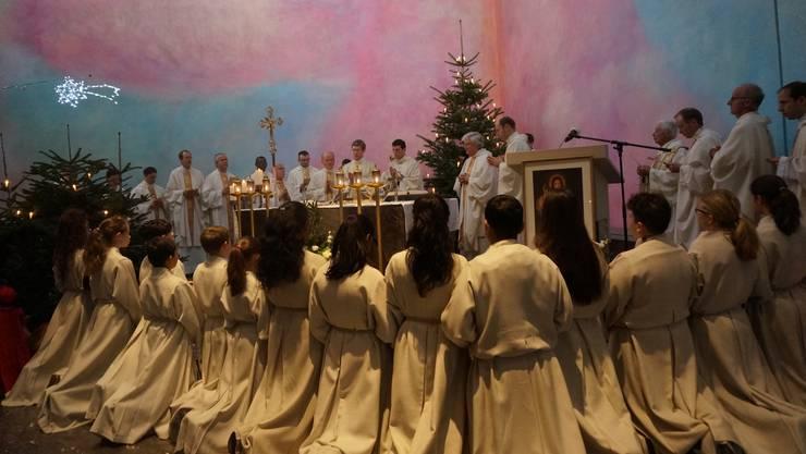 Die Primizfeier wurde zur Familiensache: So fand der Urdorfer Priester Johannes Häuselmann nach dem Tod seiner Mutter zum Glauben.