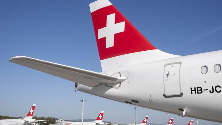 Wann die Swiss-Flotte wieder voll im Einsatz ist, weiss momentan niemand. Dennoch muss sich die Airline mit der Planung für eine Rückkehr zum Normalbetrieb beschäftigen, um bereit zu sein.