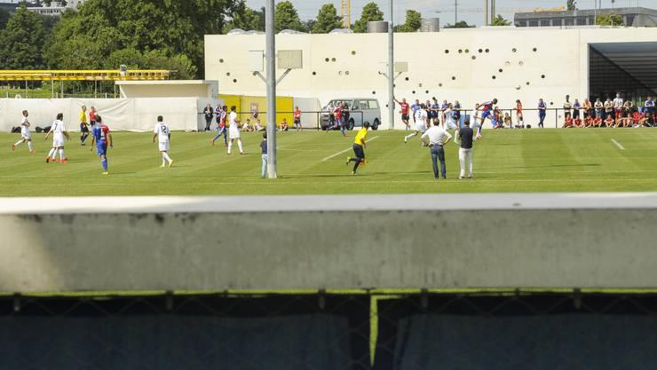 Das Testspiel zwischen dem FC Basel und dem FC Wohlen fand unter Ausschluss der Öffentlichkeit statt.