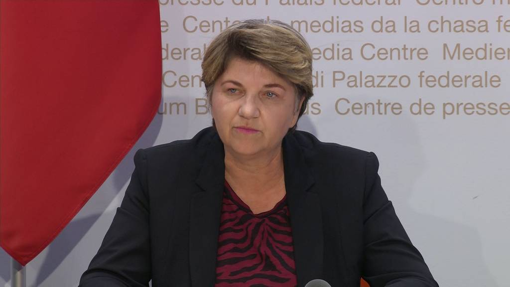 Viola Amherd: Sport ab Anfang Mai möglich