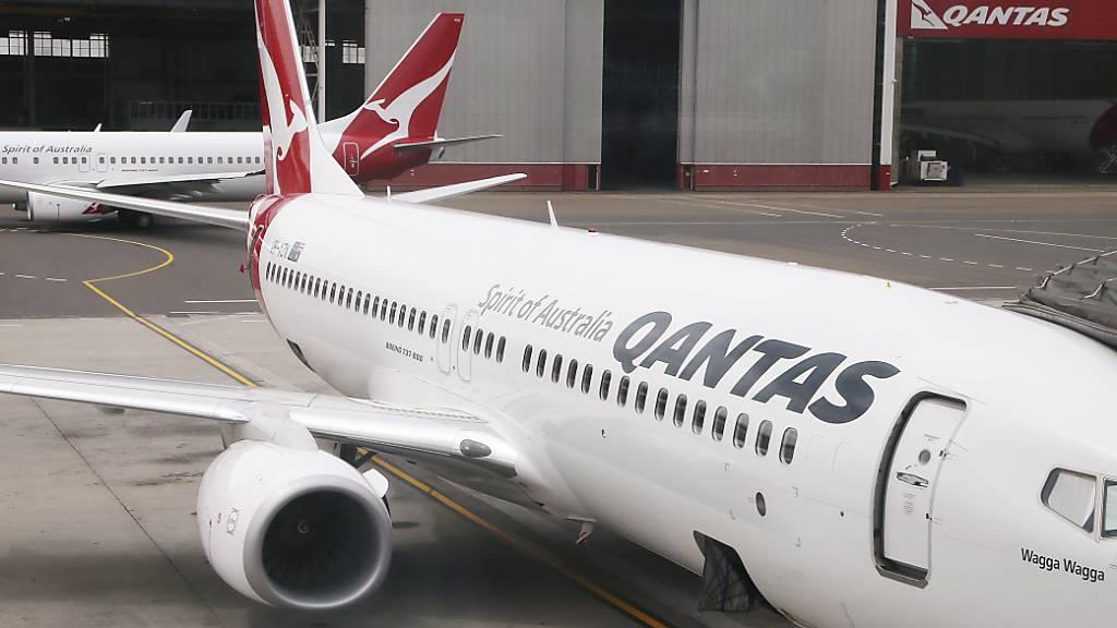 Australische Flugline Qantas will bis 2050 emissionsfrei fliegen