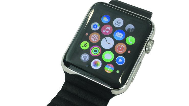 Lang ersehnt, endlich da: Die Apple-Watch.