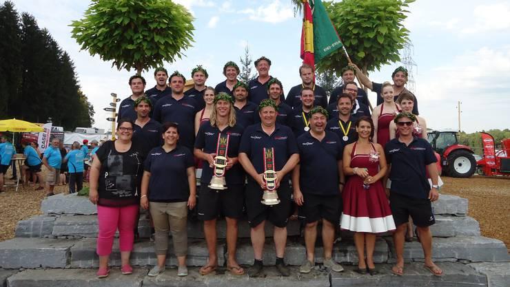 Die erfolgreiche Mannschaft von Utzingen.