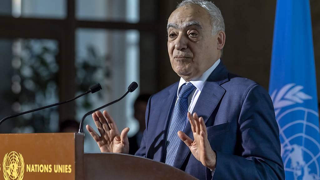 Uno: Einigung zu Waffenstillstand in Libyen steht noch aus