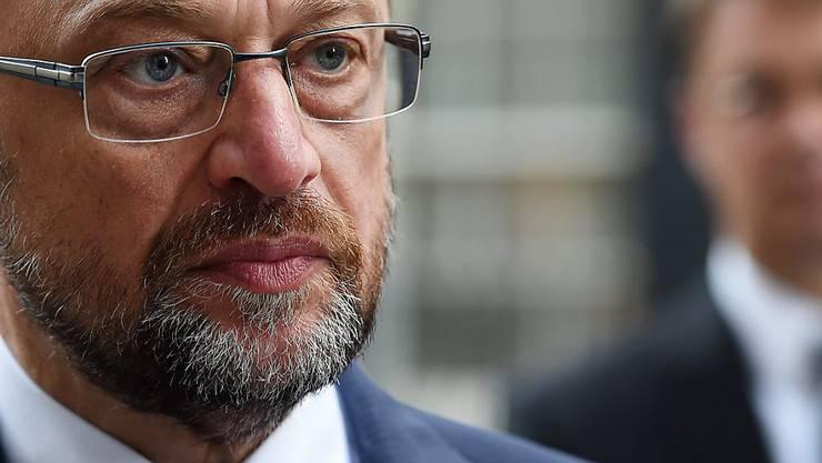 Kämpft gegen das Schlepperwesen: EU-Parlamentspräsident Martin Schulz.