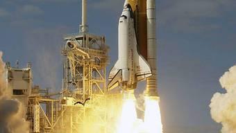 Atlantis unterwegs zur Raumstation ISS