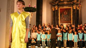 Aufführung des Jugendchors Siggenthal. (Archiv)