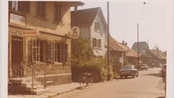 Kirchstrasse in Dietikon damals und heute