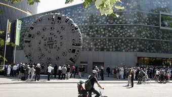 Blick aus Verkehrshaus Luzern (Archiv)