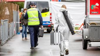 Nach Brand in Rupperswil findet die Polizei vier tote Personen im Wohnhaus