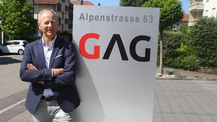 Kurt M. Kohler, Geschäftsführer der GAG, freut sich über den Erfolg.