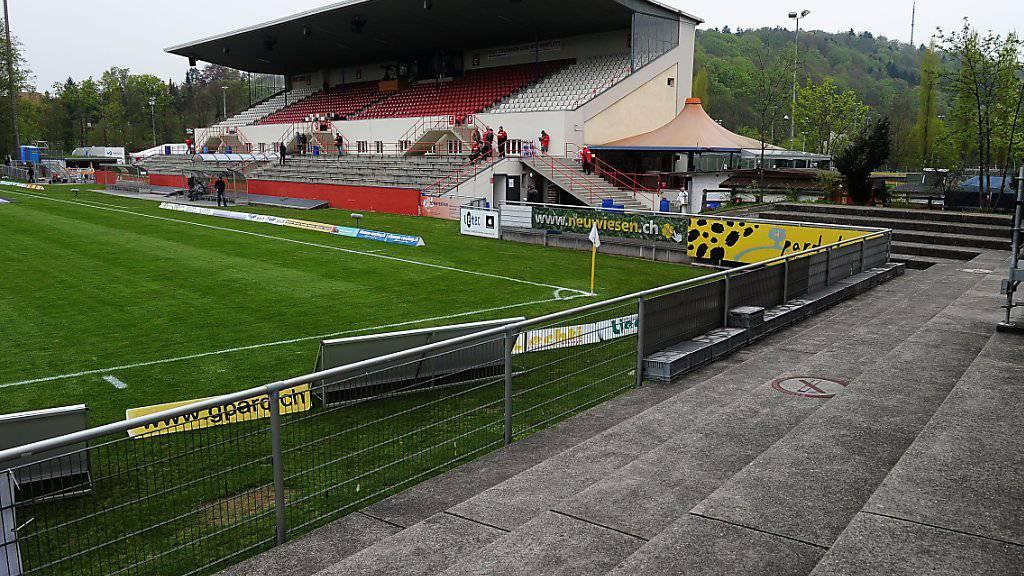 Verhaftungen nach einem Spiel im Stadion Schützenwiese in Winterthur: Fussballfans des FC Schaffhausen hatten am Sonntag zu Gewalt gegen Frauen aufgerufen. (Archivbild)