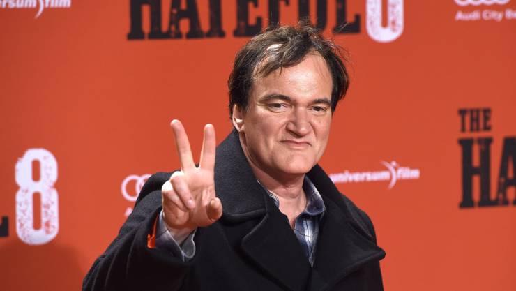 Diebstahl in der Firma: US-Regisseur Quentin Tarantino soll zwei Einbrecher in flagranti überrascht haben. (Archivbild)