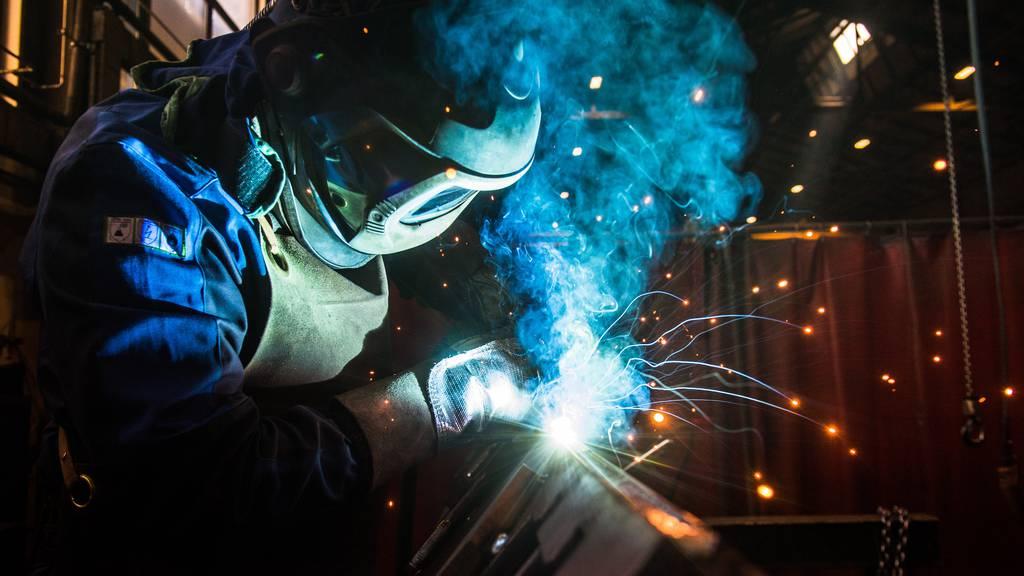 Industrie hat Einbruch durch Coronakrise wettgemacht