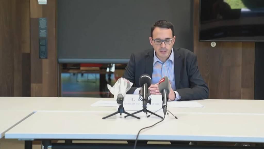 Coronakrise: Bund informiert über die neusten Entwicklungen