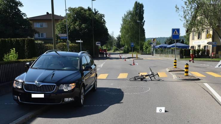 Wegen des Unfalls musste die Birmensdorferstrasse für über zwei Stunden gesperrt werden.