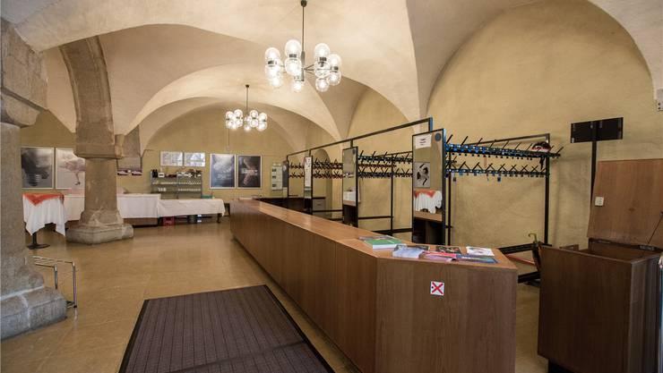 Der Eingangsbereich, die Visitenkarte des Stadttheaters.
