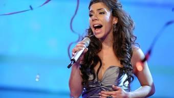 """Edita Abdieski beim """"X Factor""""-Finale vor einer Woche"""