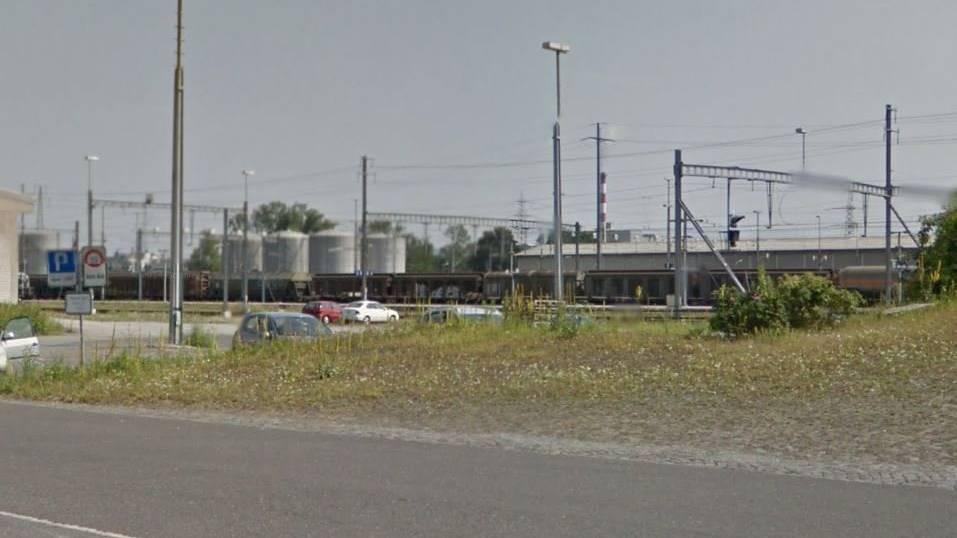 Hier, am Güterbahnhof Buchs, ist ein 14-jähriger von einem Stromschlag getroffen worden. (Symbolbild)