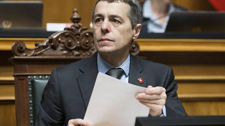 Erwägt seit längerem eine Reise in die Türkei: Aussenminister Ignazio Cassis. (Archiv)