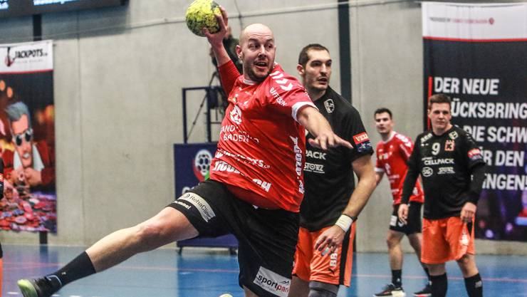 TVE-Kreisläufer Simon Wittlin steuerte vier Treffer bei, trotzdem unterlag der TV Endingen den Kadetten Schaffhausen deutlich mit 26:36.