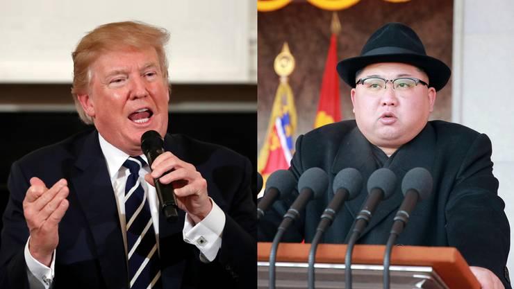 Donald Trump und Kim Jong Un wollen sich bald treffen.