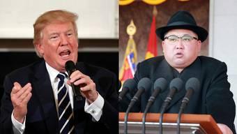 US-Präsident Donald Trump und der nordkoreanische Diktator Kim Jong Un wollen sich treffen.