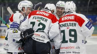 Swiss League. EVZ Academy –EHC Olten (14.01.20)