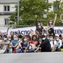 Am 20. Juni blockiergen fast 300 Aktivisten.