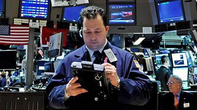 Hektisches Treiben an der US-Börse