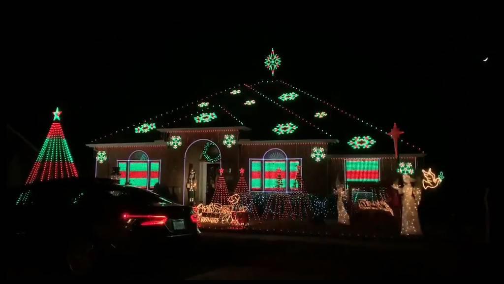 Lichter-Wahnsinn: Weihnachtsschmuck extrem