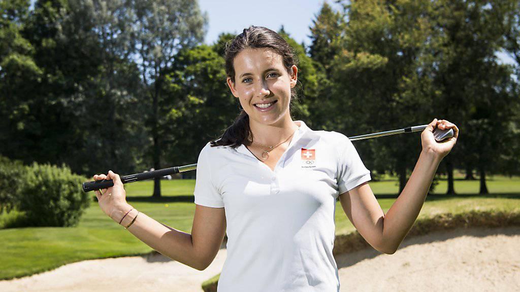 Albane Valenzuela - ein hervorragender Schweizer Golfexport.