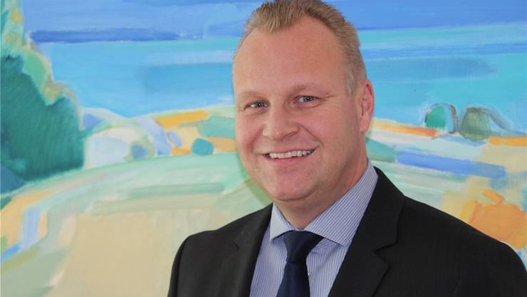 «Wir sind stolz auf das solide Jahresergebnis»: Bank-Chef Hansjörg Gloor.zvg