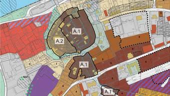 Die Altstadt soll gemäss dem öffentlich aufgelegten Zonenplan-Entwurf unterteilt werden in A.1 («belebt») und A.2 («ruhig»).
