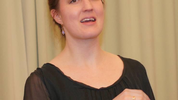 Isabelle Hauser erzählt keltische und biblische Geschichten.