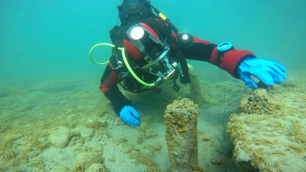 Archäologen tauchen nach 3500 Jahre alten Siedlungen