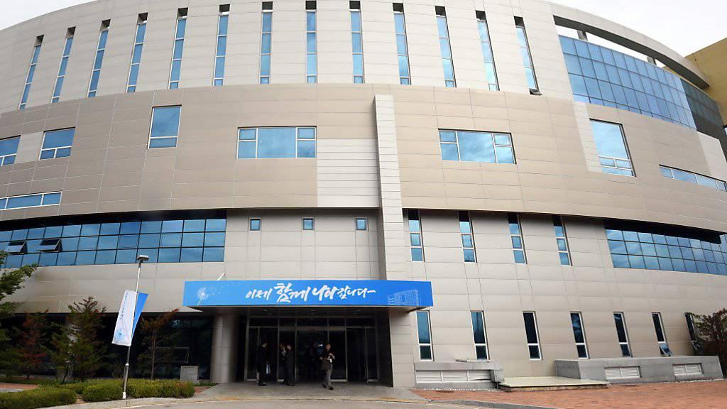Das Verbindungsbüro von Nord- und Südkorea in der nordkoreanischen Grenzstadt Kaesong. (Archiv)