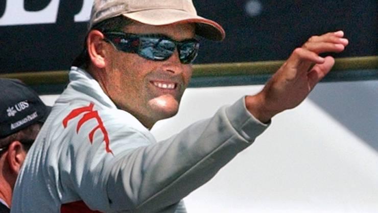 Russell Coutts gewann 2003 als Skipper des Schweizer Segel-Syndikats Alinghi den America's Cup