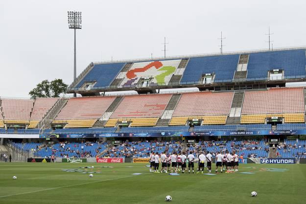 Die Schweiz beim ersten Training in Montpellier.
