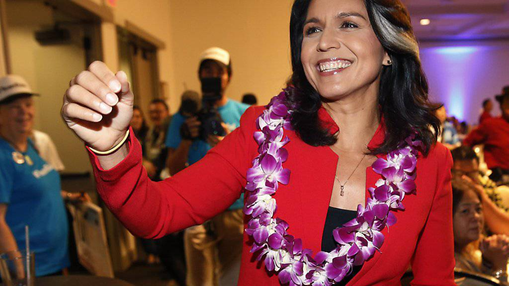 Will bei der US-Präsidentschaftswahl 2020 gegen Amtsinhaber Donald Trump antreten: die demokratische Abgeordnete Tulsi Gabbard aus Hawaii. (Archivbild)