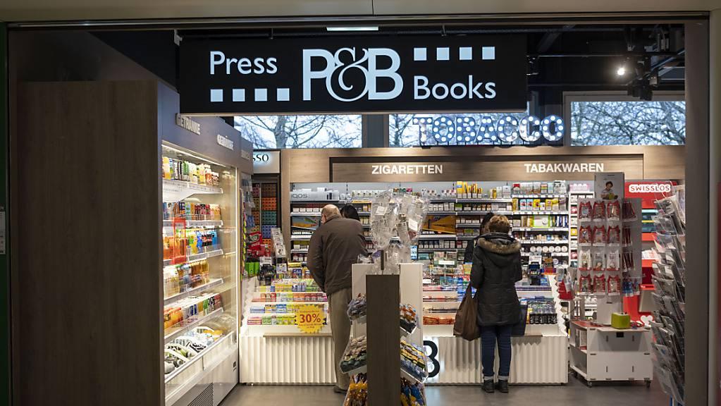 Sind künftig auch in Bayern zu finden: Verkaufsstellen von Press & Books der Valora Gruppe. (Archivbild)