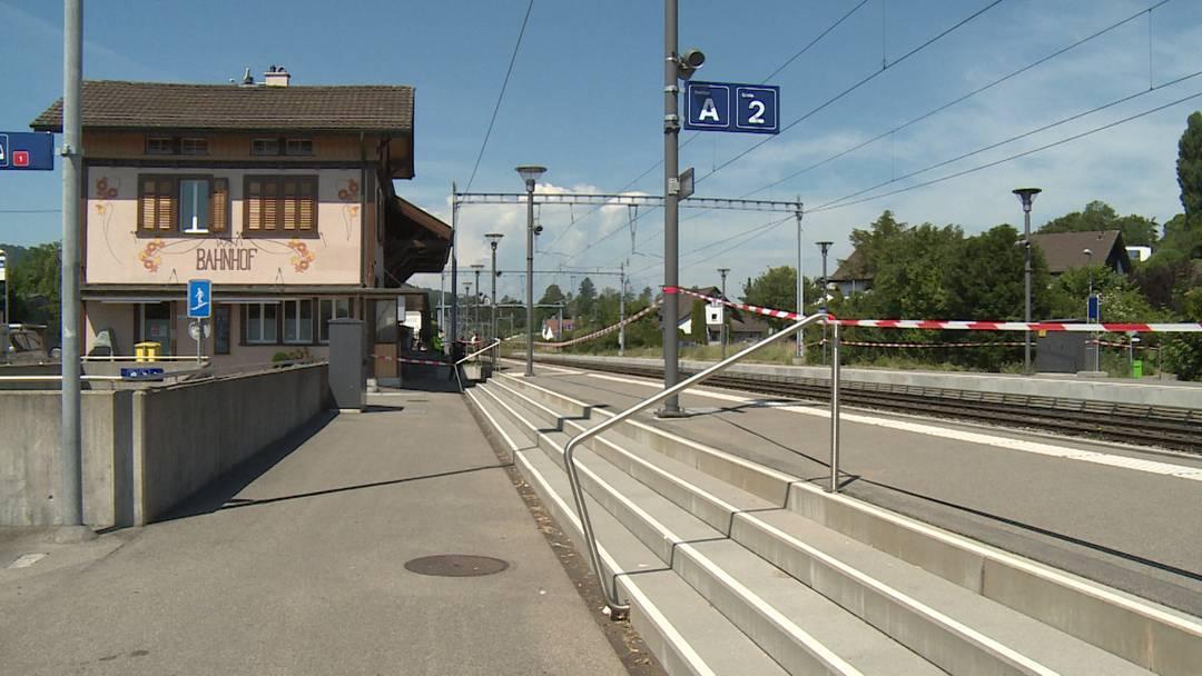 Würenlos (AG): Mädchen kommt bei Zugunfall ums Leben
