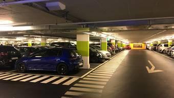 Parkhäuser im Kanton Aargau