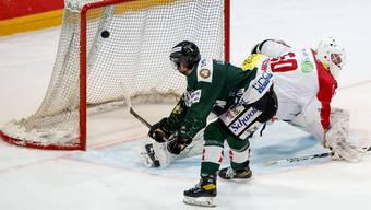 Eishockey, Swiss League: EHC Olten - Ticino Rockets (21.1.21)