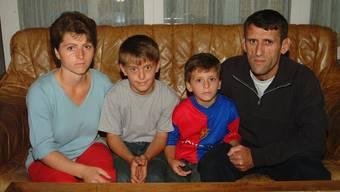 Die Familie Halili blickte 2006 in eine unsichere Zukunft. (Archiv)
