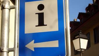 Das Info-Büro am Lenzburger Kronenplatz soll künftig vom Verein Seetaltourismus geführt werden.