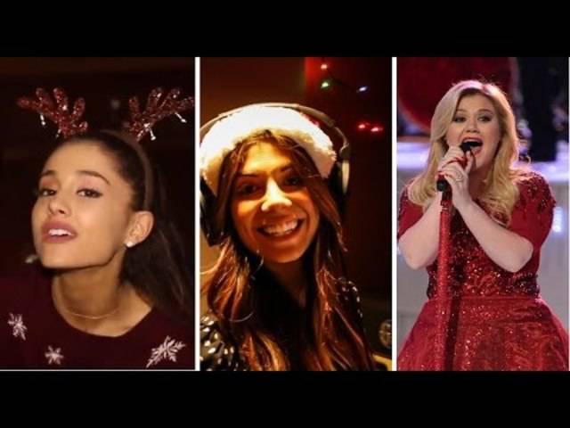 Eine Stunde Christmas-Songs von Ariana Grande, Kelly Clarkson und Meghan Trainor.